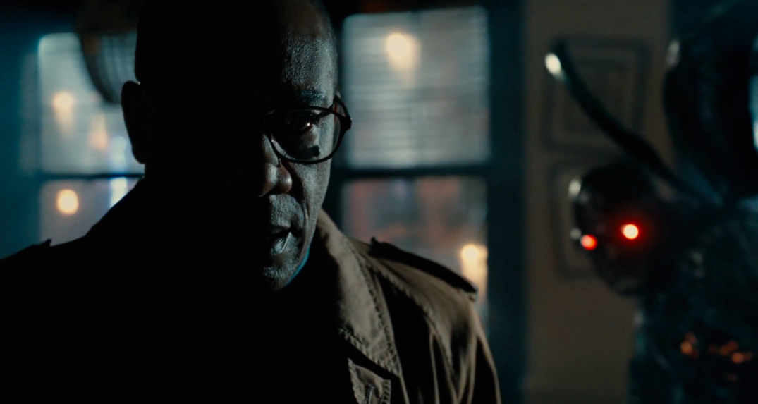 Justice League Movie Trailer Images Screencaps Giancarlo Esposito