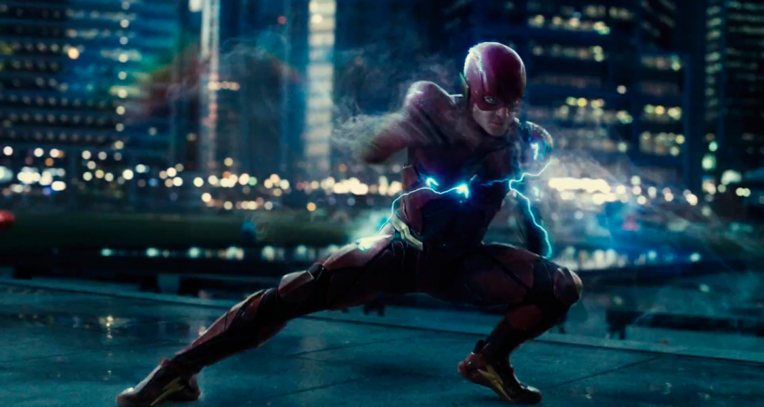 Justice League Movie Trailer Images Screencaps Ezra Miller The Flash