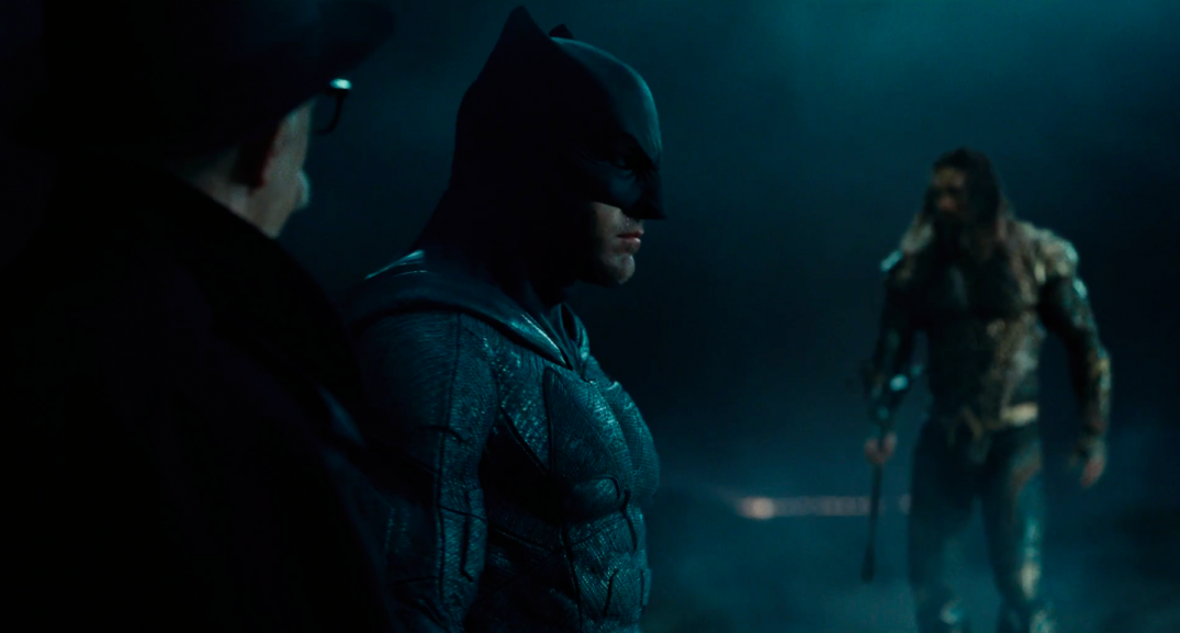 Justice League Movie Trailer Images Screencaps Jason Momoa Aquaman Ben Affleck Batman