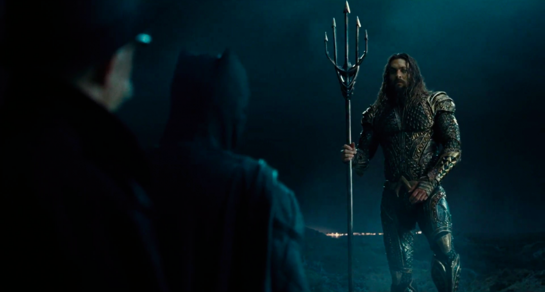 Justice League Movie Trailer Images Screencaps Jason Momoa Aquaman Batman Ben Affleck