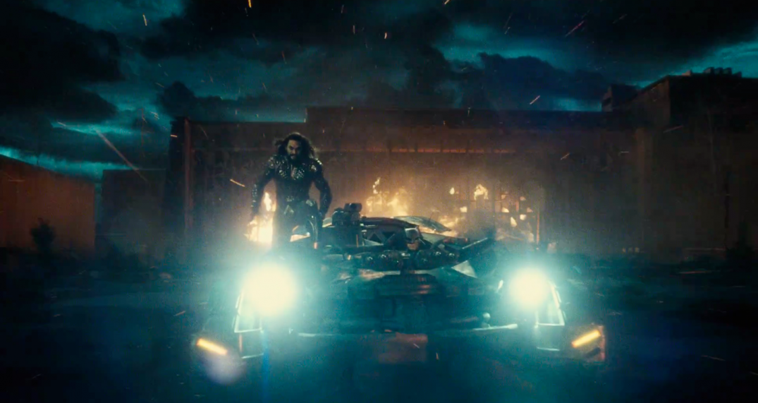 Justice League Movie Trailer Images Screencaps Aquaman Batman