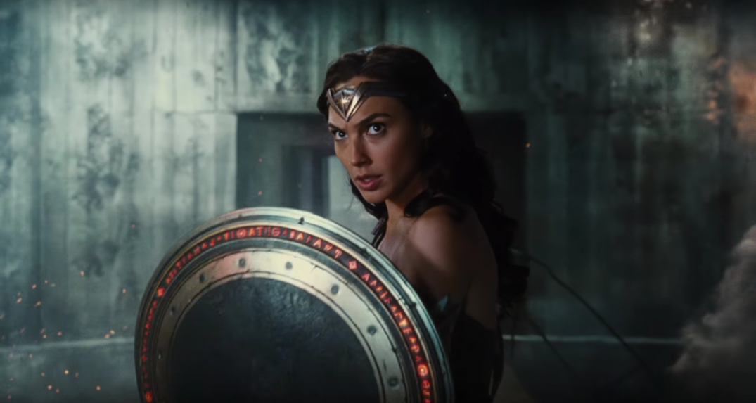 Justice League Movie Trailer Wonder Woman Gal Gadot