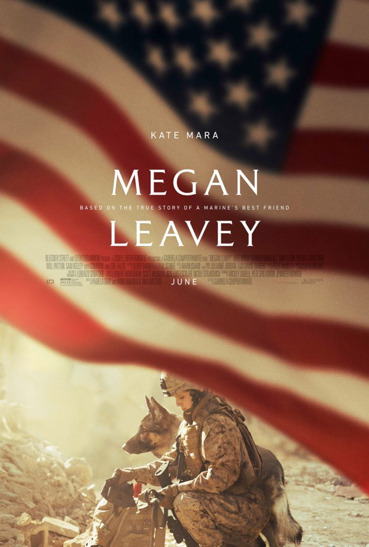 Megan Leavey Movie Poster Kate Mara