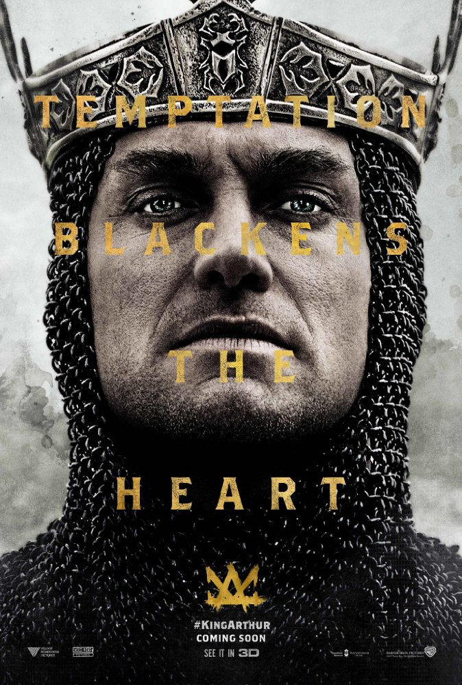 King Arthur Movie Jude Law Poster