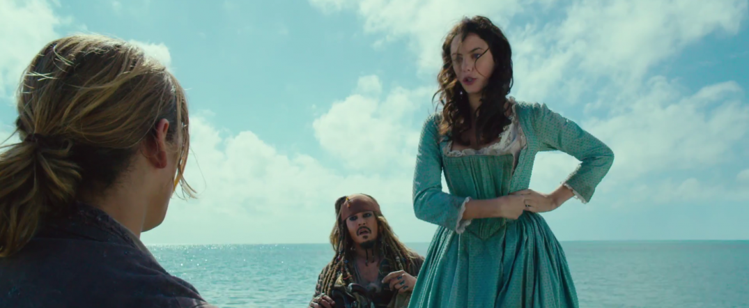 Pirates of the Caribbean Dead Men Tell No Tales Movie Images Kaya Scodelario JOhnny Depp