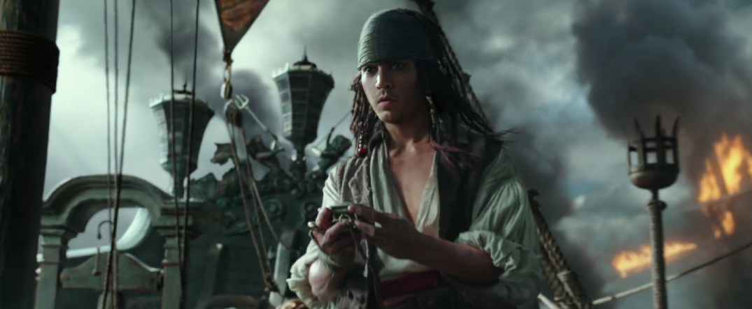Pirates of the Caribbean Dead Men Tell No Tales Movie Images Young Jack Sparrow