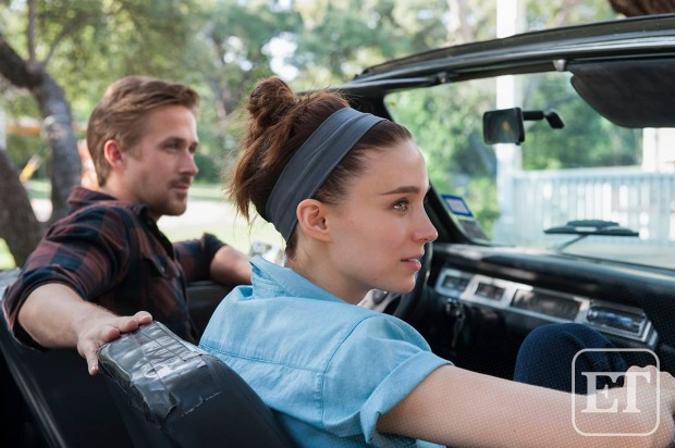 Rooney Mara Ryan Gosling in Terrence Malick's Song to Song