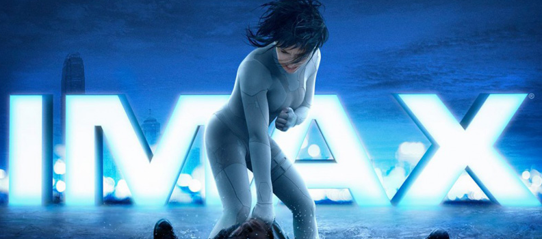 Ghost in the Shell Imax Movie Poster Scarlett Johansson