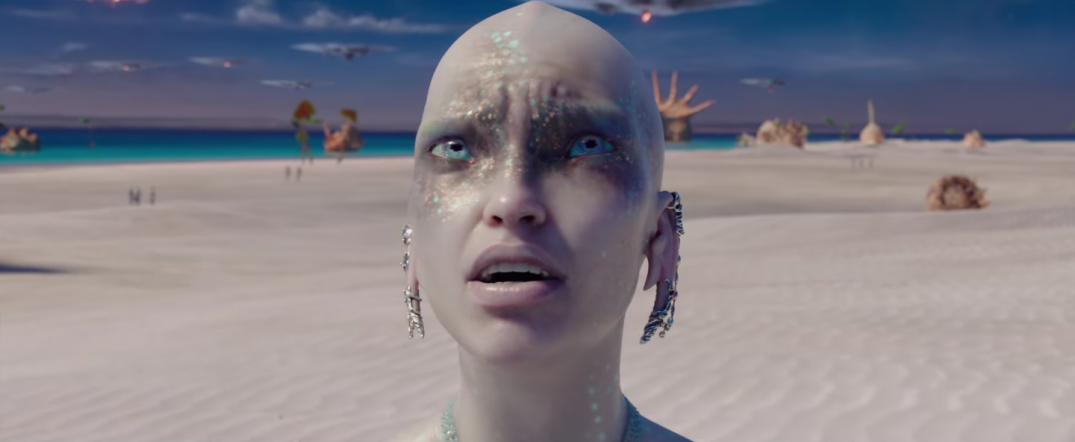 Valerian and the City of a Thousand Planets Movie Dane DeHaan Cara Delevingne