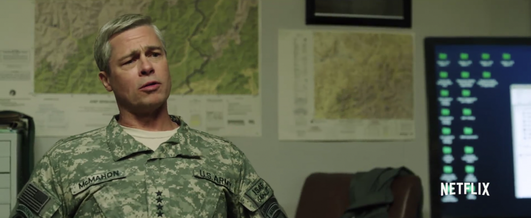 Brad Pitt in War Machine Movie Images