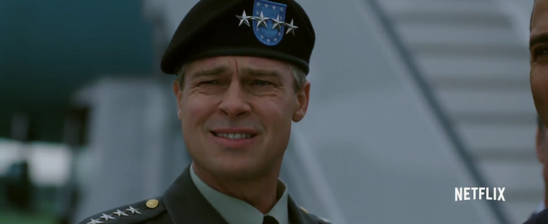 War Machine Brad Pitt Movie Images