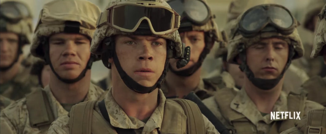 War Machine Movie Images Will Poulter