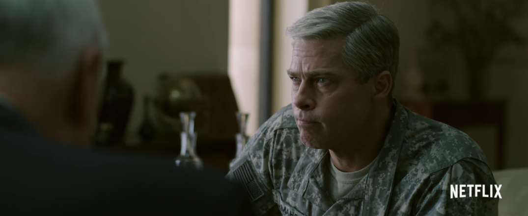 War Machine Movie Brad Pitt