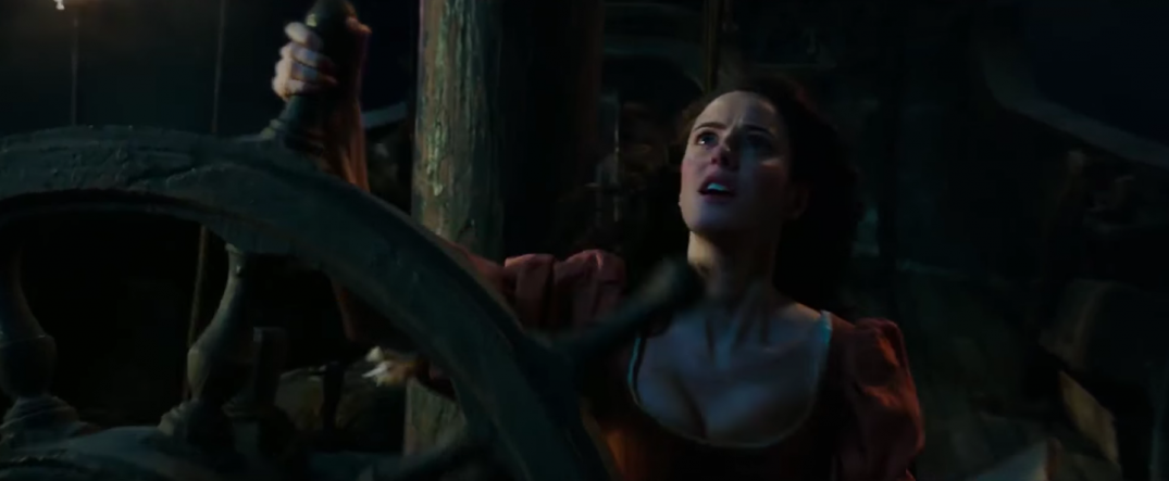 Pirates of the Caribbean Dead Men Tell No Tales Kaya Scodelario Movie Images Trailer