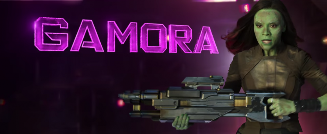 Guardians of the Galaxy Vol. 2 Gamora