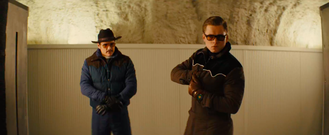 Kingsman The Golden Circle Movie Images Stills Pics Trailer Screencaps Screenshots Pedro Pascal Taron Egerton