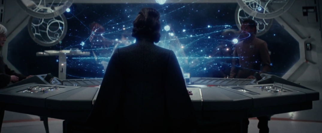 Star Wars The Last Jedi Movie Trailer Stills Images Screenshots Screencaps Carrie Fisher