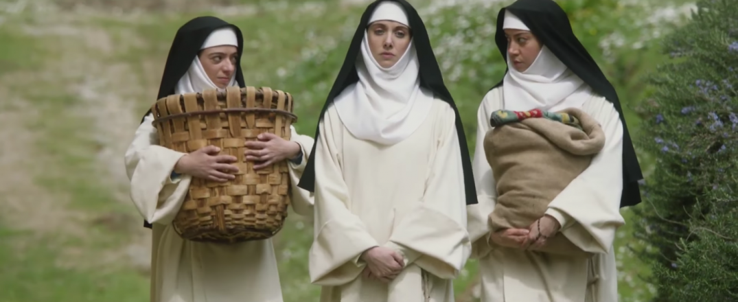 The Little Hours Movie Trailer Images Pics Stills Aubrey Plaza Alison Brie Kate Micucci