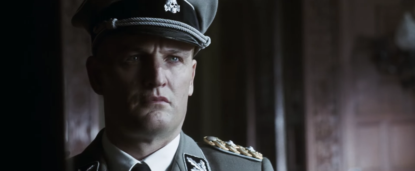 trailer for world war ii film �the man with the iron heart