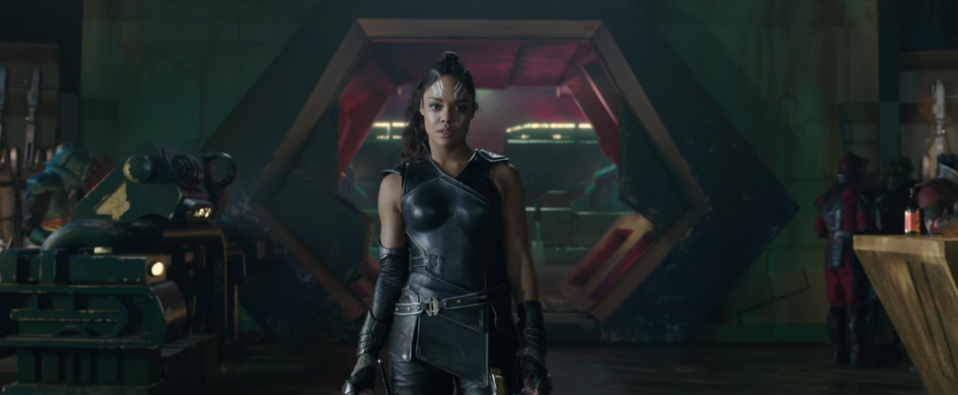 Thor Ragnarok Movie Trailer Screencaps Screenshots Tessa Thompson Valkyrie