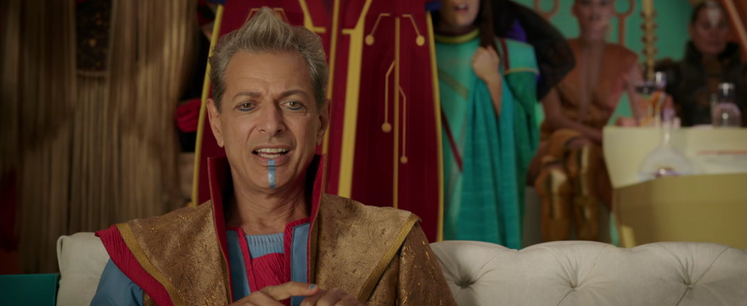 Thor Ragnarok Movie Trailer Screencaps Screenshots Jeff Goldblum Grandmaster