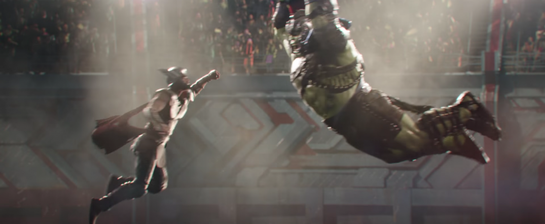 Thor Ragnarok Movie Trailer Screencaps Screenshots Chris Hemsworth Mark Ruffallo The Hulk