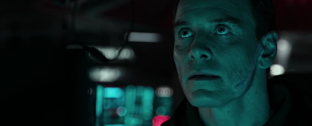 Alien Covenant HD Hi Res Trailer Screencaps Screenshots Screengrabs Images Stills Pics Michael Fassbender David