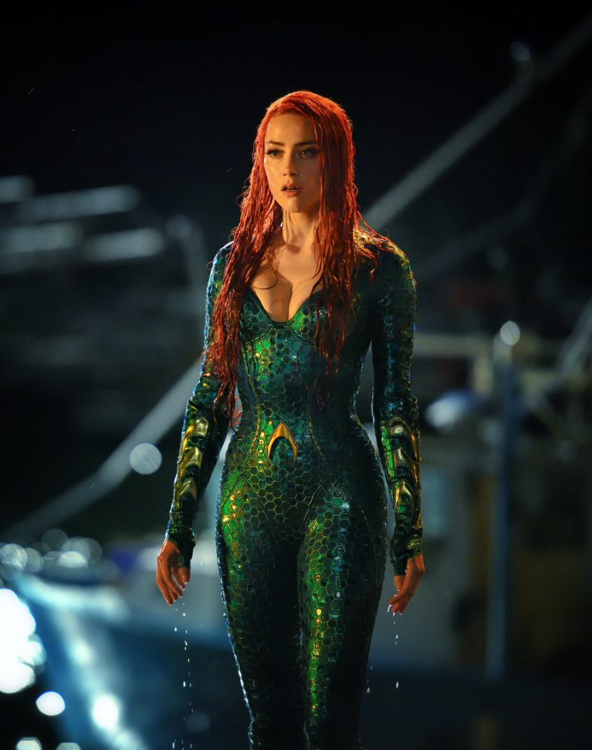 Aquaman James Wan Mera Amber Heard Movie Images Pics Stills