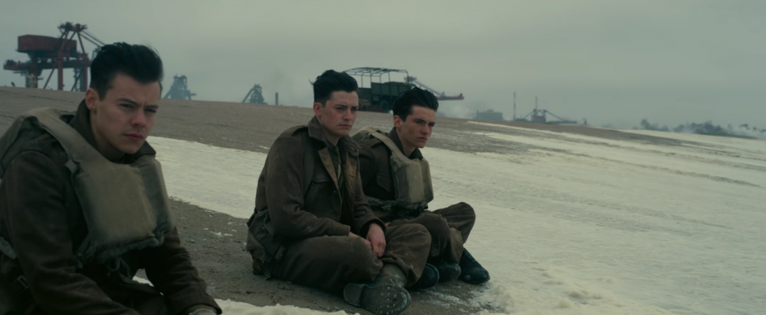 Dunkirk Movie Trailer Stills Images Screencaps Christopher Nolan Harry Styles