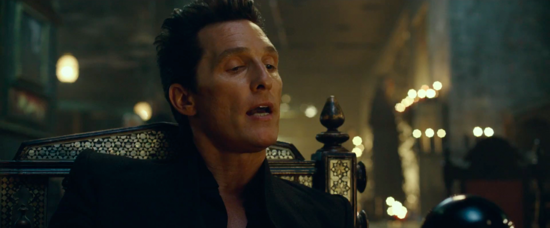 The Dark Tower Movie Trailer Screencaps Screenshots Images Pics Stills Matthew McConaughey Man in Black