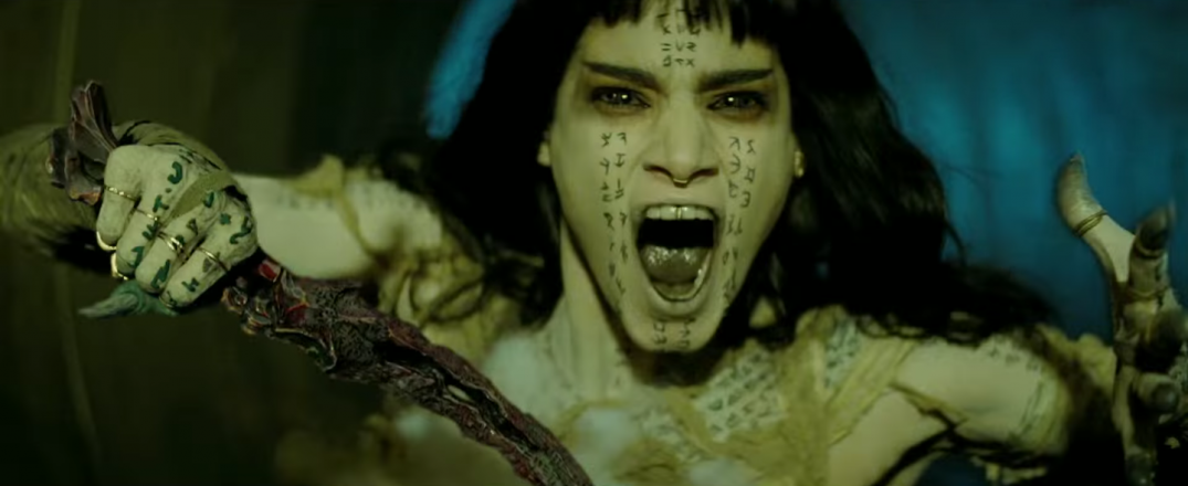 The Mummy Movie Screencaps Screenshots Images Sofia Boutella