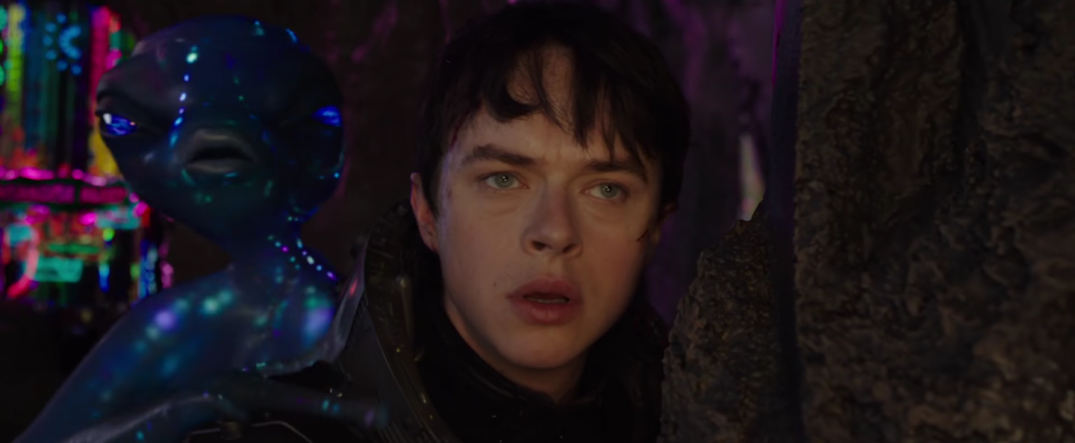 Valerian and the City of a Thousand Planets Movie Trailer Stills Images Pics Screencaps Screenshots Dane DeHaan