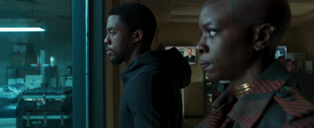 Black Panther Marvel Movie Trailer Images Stills Screencaps Screenshots HD Hi Res Chadwick Boseman Danai Gurira Okoye