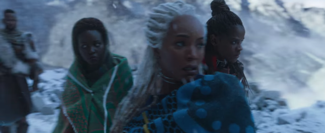 Black Panther Marvel Movie Trailer Images Stills Screencaps Screenshots HD Hi Res Lupita Nyong'o Nakia