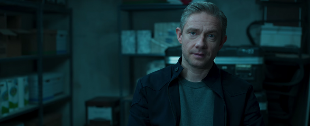Black Panther Marvel Movie Trailer Images Stills Screencaps Screenshots HD Hi Res Martin Freeman
