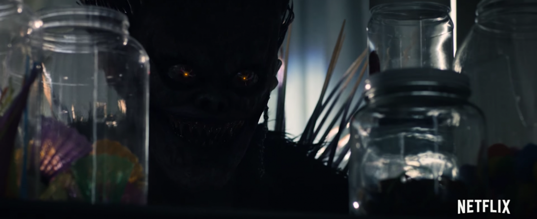Light Ryuk Death Note Movie Trailer Screencaps Images Adam Wingard Willem Dafoe