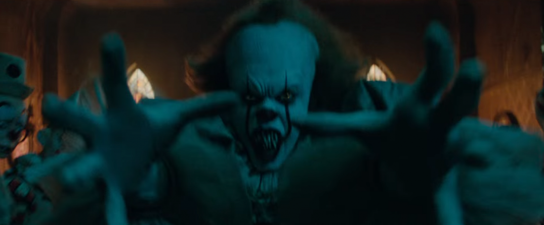 IT Movie Trailer Images Screencaps Screenshots Pennywise 2017 Official