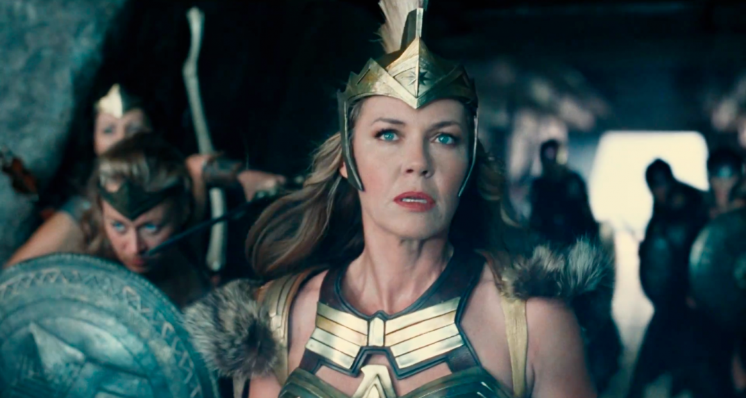 Justice League Movie Trailer Screencaps Screenshots Screengrabs HD Hi Res Images Connie Nielsen Queen Hippolyta