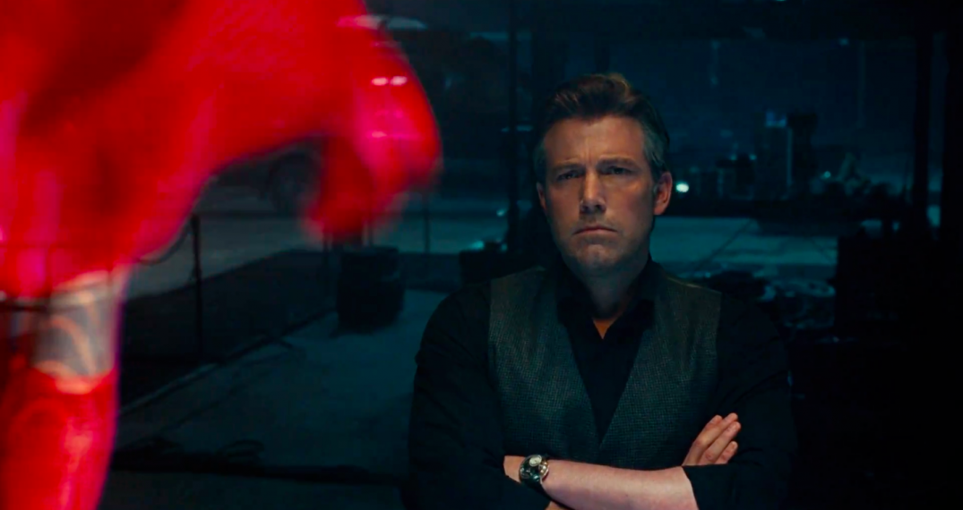 Justice League Movie Trailer Screencaps Screenshots Screengrabs HD Hi Res Images Batman Ben Affleck