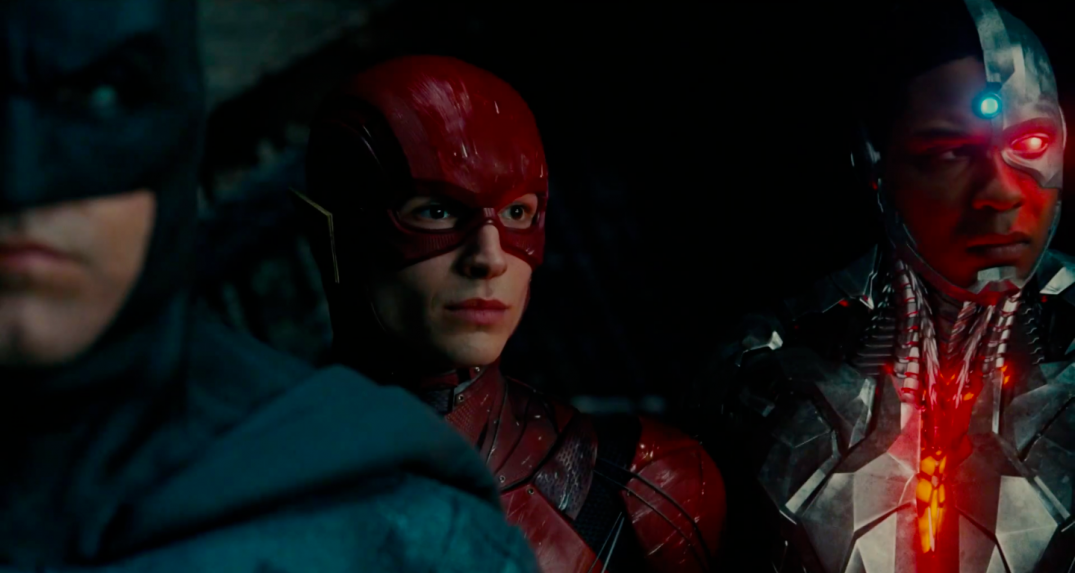 Justice League Movie Trailer Screencaps Screenshots Screengrabs HD Hi Res Images Barry Allen The Flash Ezra Miller