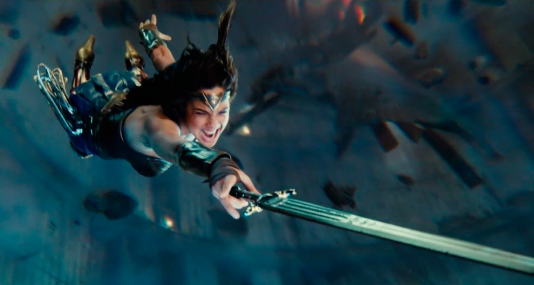 Justice League Movie Trailer Screencaps Screenshots Screengrabs HD Hi Res Images Gal Gadot Wonder Woman