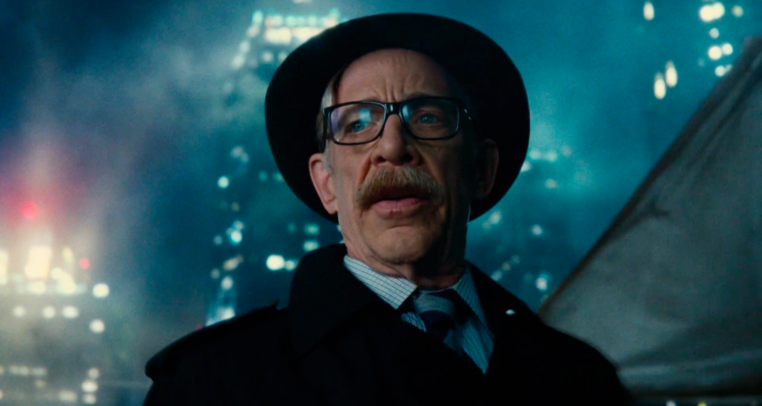 Justice League Movie Trailer Screencaps Screenshots Screengrabs HD Hi Res Images JK SImmons