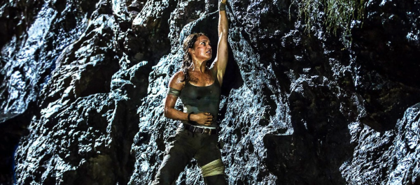 Tomb Raider Reboot Movie Alicia VIkander as Lara Croft Movie Trailer Stills Pics Images Photos Screencaps Screenshots trailer