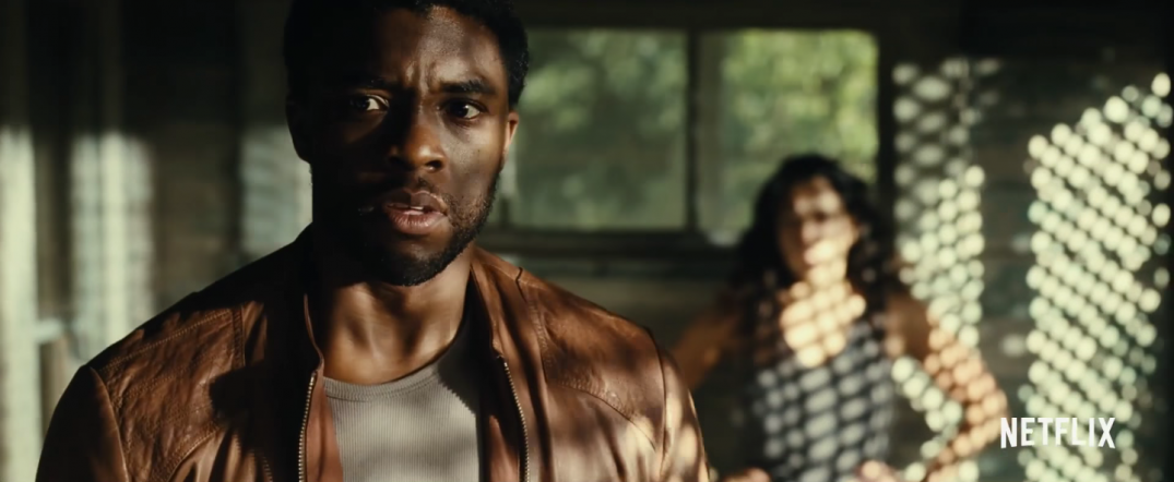 Message from the King Movie Trailer Screencaps Images Netflix Chadwick Boseman