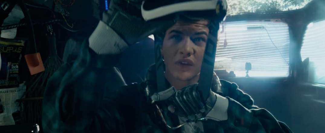 Ready Player One Movie Trailer Screencaps Stills Screenshots Screengrabs Tye Sheridan Steven Spielberg HD Hi Res