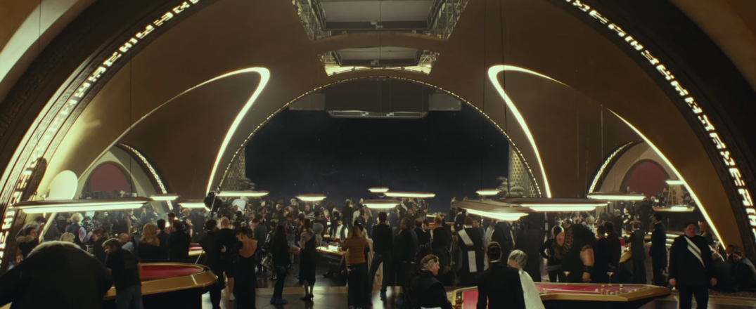 Star Wars The Last Jedi Movie Trailer Stills Behind the Scenes Screecaps Screenshots Party Sequence