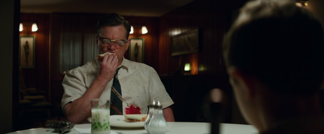 Suburbicon Movie Trailer Screencaps Schreenshots Images George Clooney Matt Damon