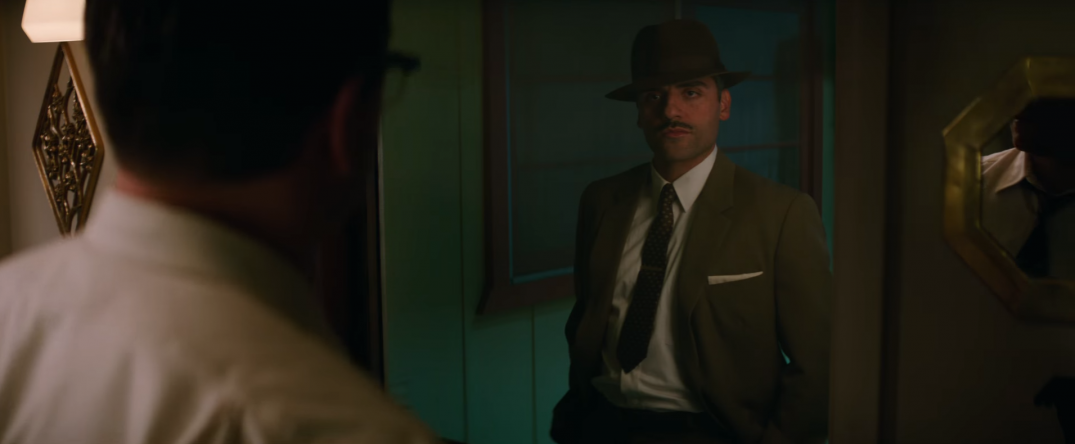 Suburbicon Movie Trailer Screencaps Schreenshots Images George Clooney Oscar Isaac