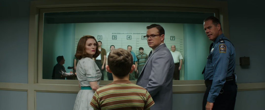 Suburbicon Movie Trailer Screencaps Schreenshots Images George Clooney Julianne Moore matt Damon