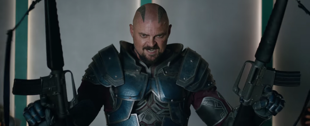 Thor Ragnarok Movie Trailer Screencaps Stills Screenshots Screengrabs Karl Urban Skurge